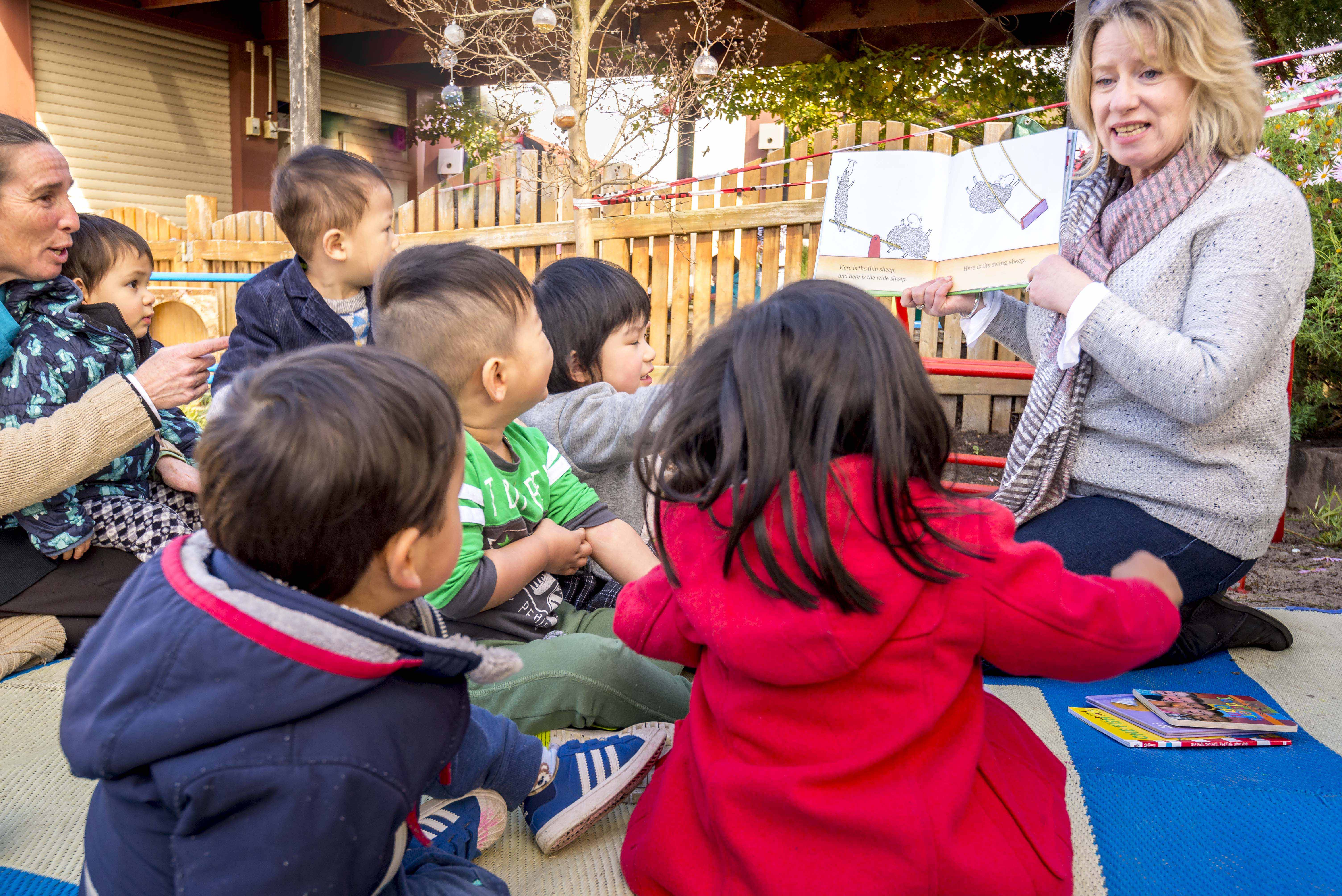 Read Aloud Sessions