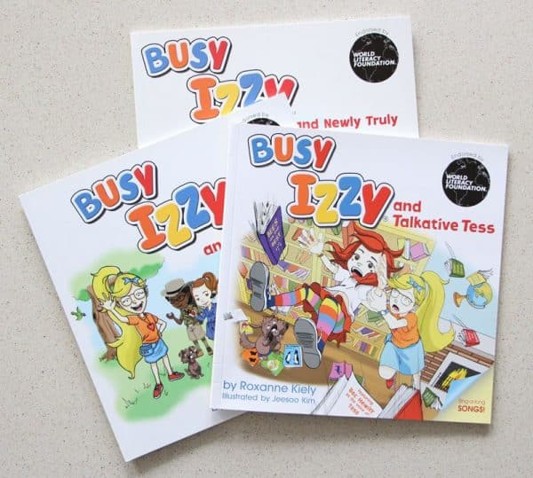 Busy Izzy book series image