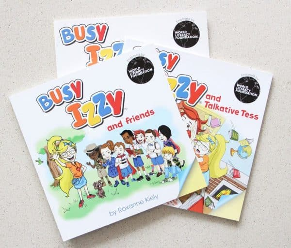Busy Izzy and friends book cover