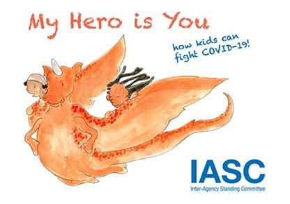 My Hero is You. How kids can fight COVID-19
